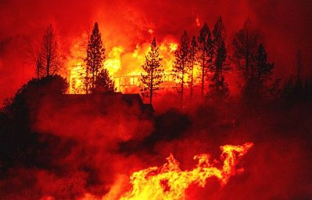 California Fires Dangerously Close to Pomona Convent