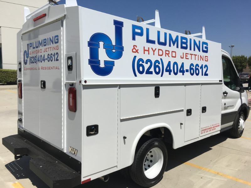 Utility Body Signs : Custom vinyl wraps vehicle graphics decals lettering