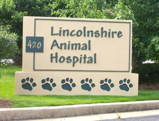 BB11705 – Entrance Sign for Animal Hospital