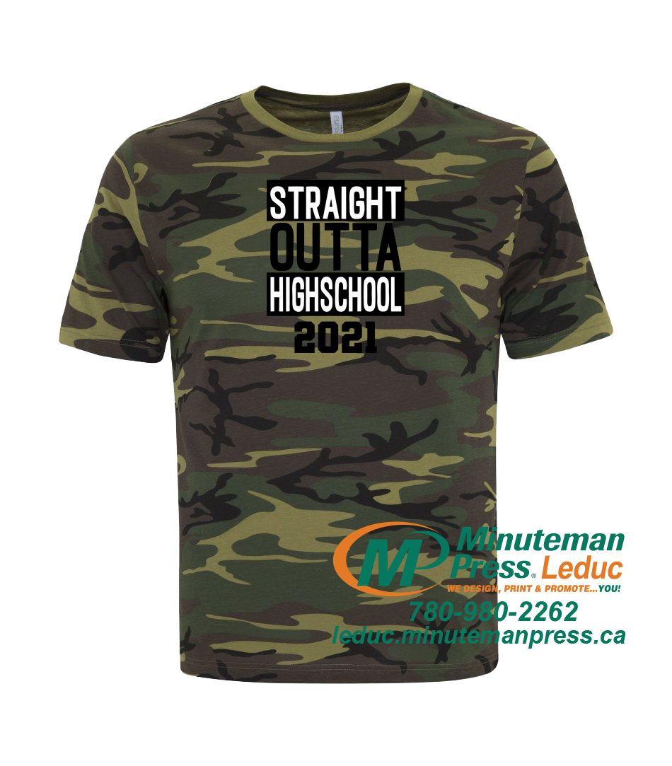 Straight Outta Highschool 2021 - Super soft T-shirts