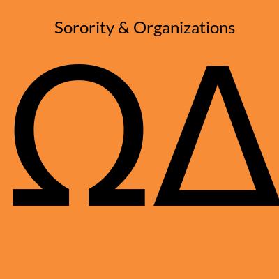 Sorority and Organizations