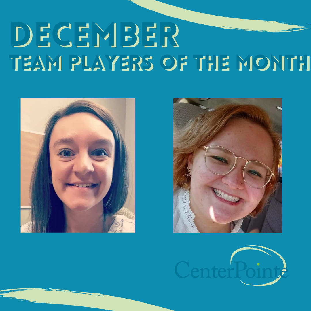 December Team Players of the Month