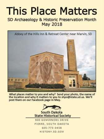 Gov. Daugaard proclaims May as Archaeology & Historic Preservation Month