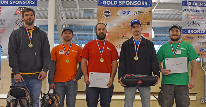Apprentices Take Top Honors at State Competition