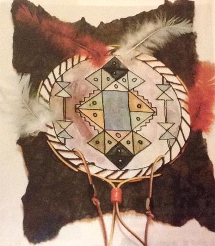 Youth Art Month Workshop: Native American Hide Design (Grades 2-5)