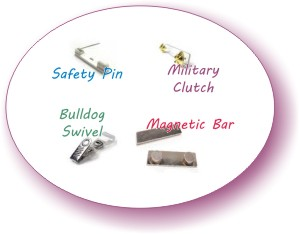 name tag fasteners
