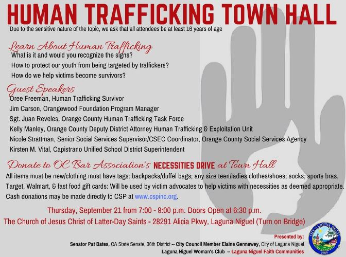 Human Trafficking Town Hall