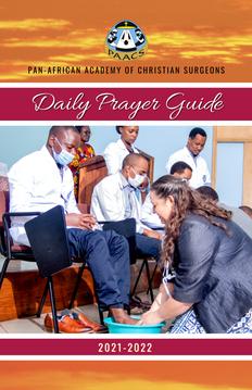 2021 - 2022 Prayer Guide