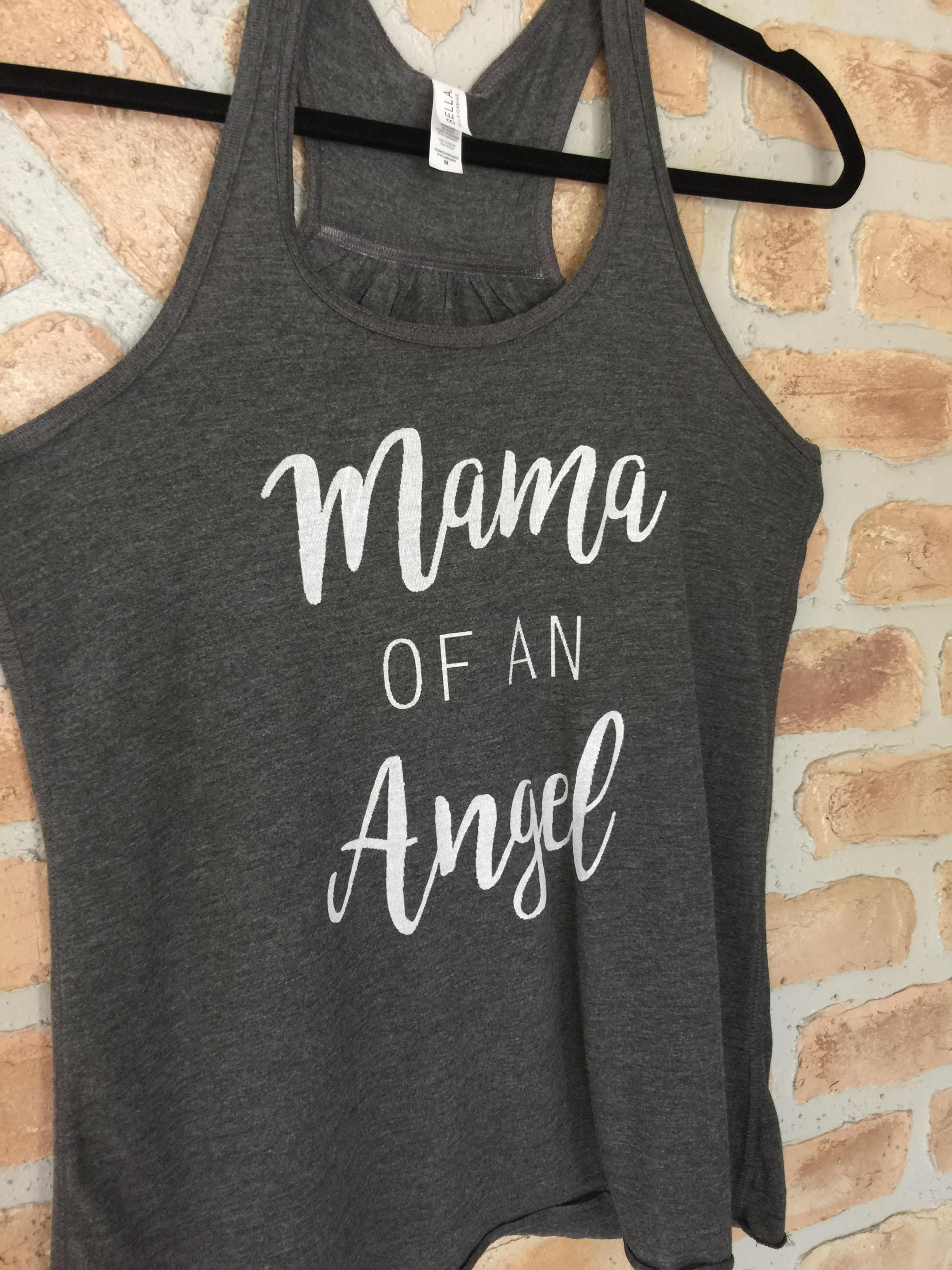 Mama of an Angel Tank
