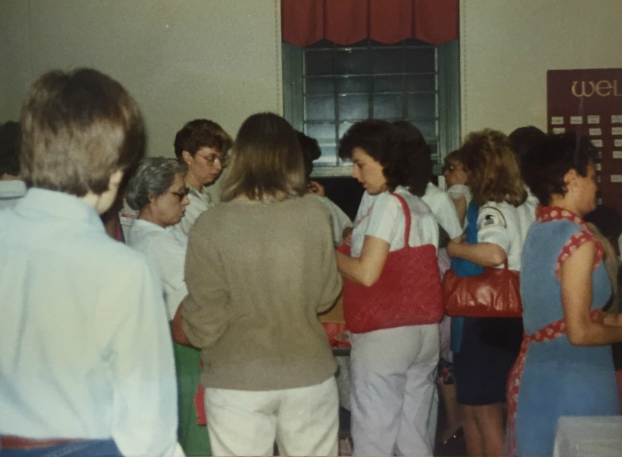 AWP advocates at the 1987 Annual Meeting.