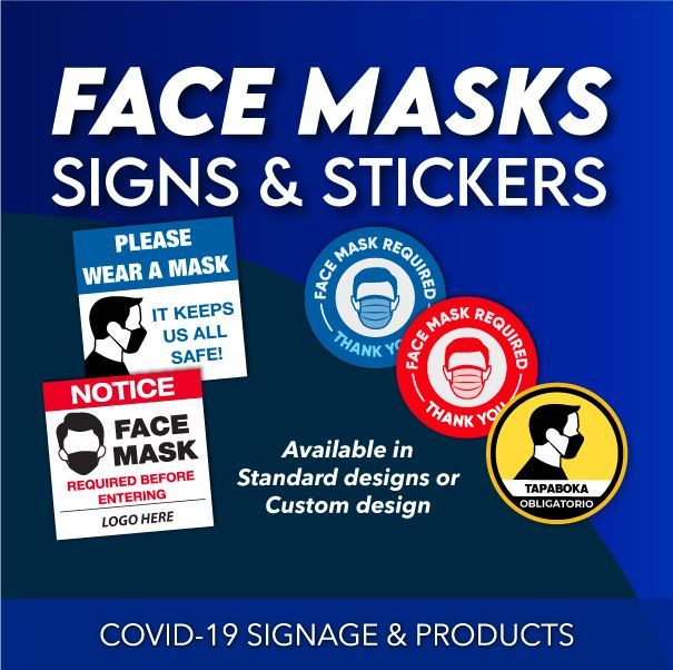 COVID-19 SIGNAGE & PRODUCTS
