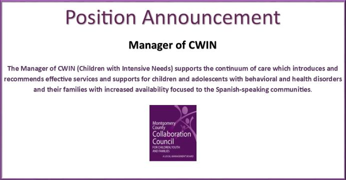 Manager of CWIN