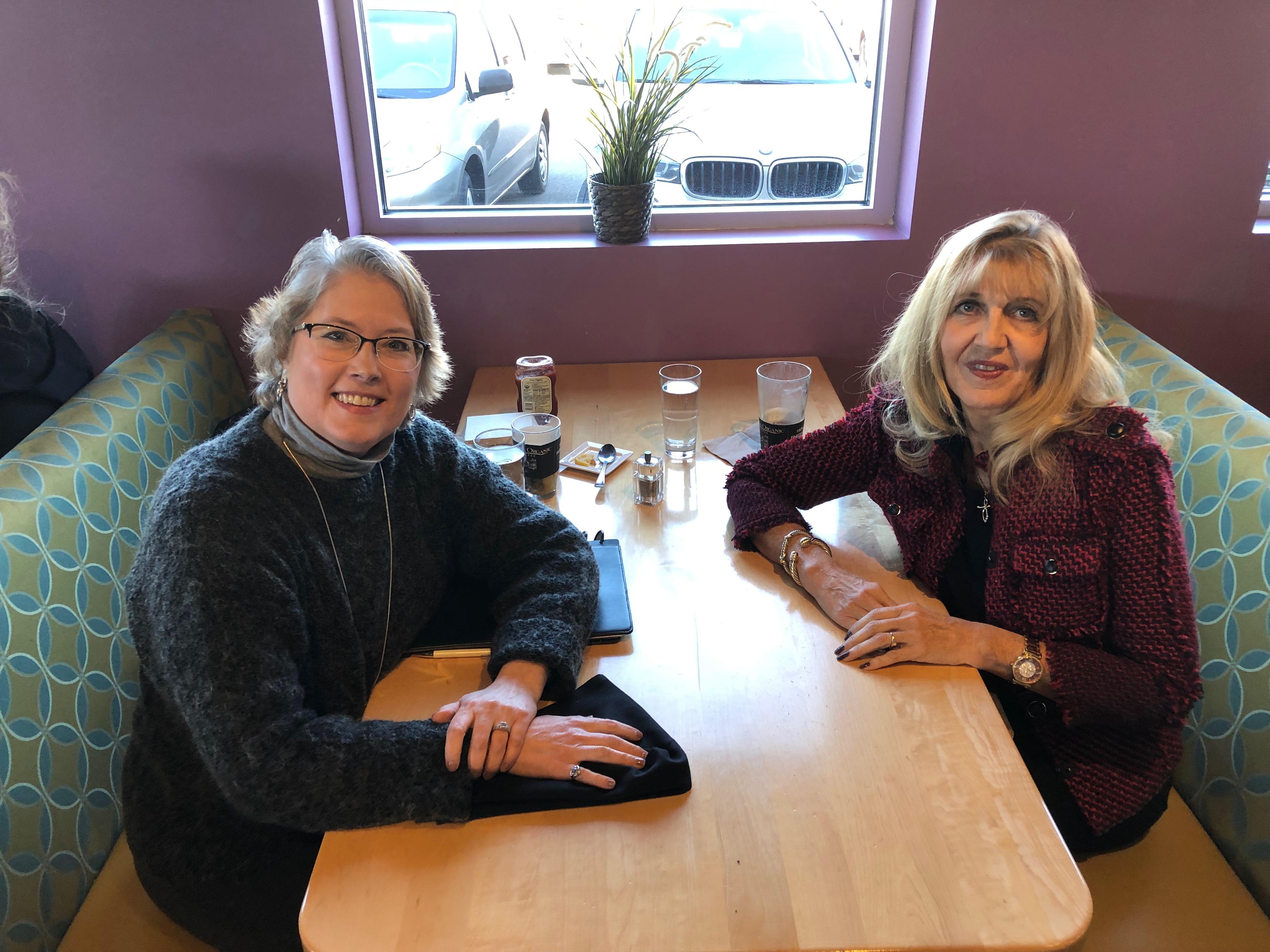 Meeting with Peggy Bernhardt-Kadlec
