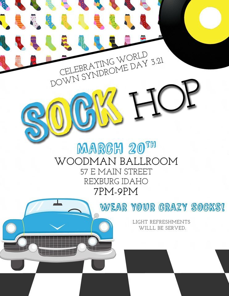 World Down Syndrome Day Sock Hop