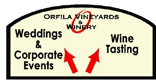 R27060 - Orfila Vineyards and Winery Wayfinding Sign