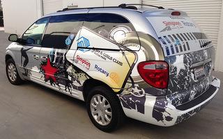 Unique car wraps in Orange County