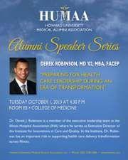 Dr. Derek Robinson - October 1, 2013 (PDF)