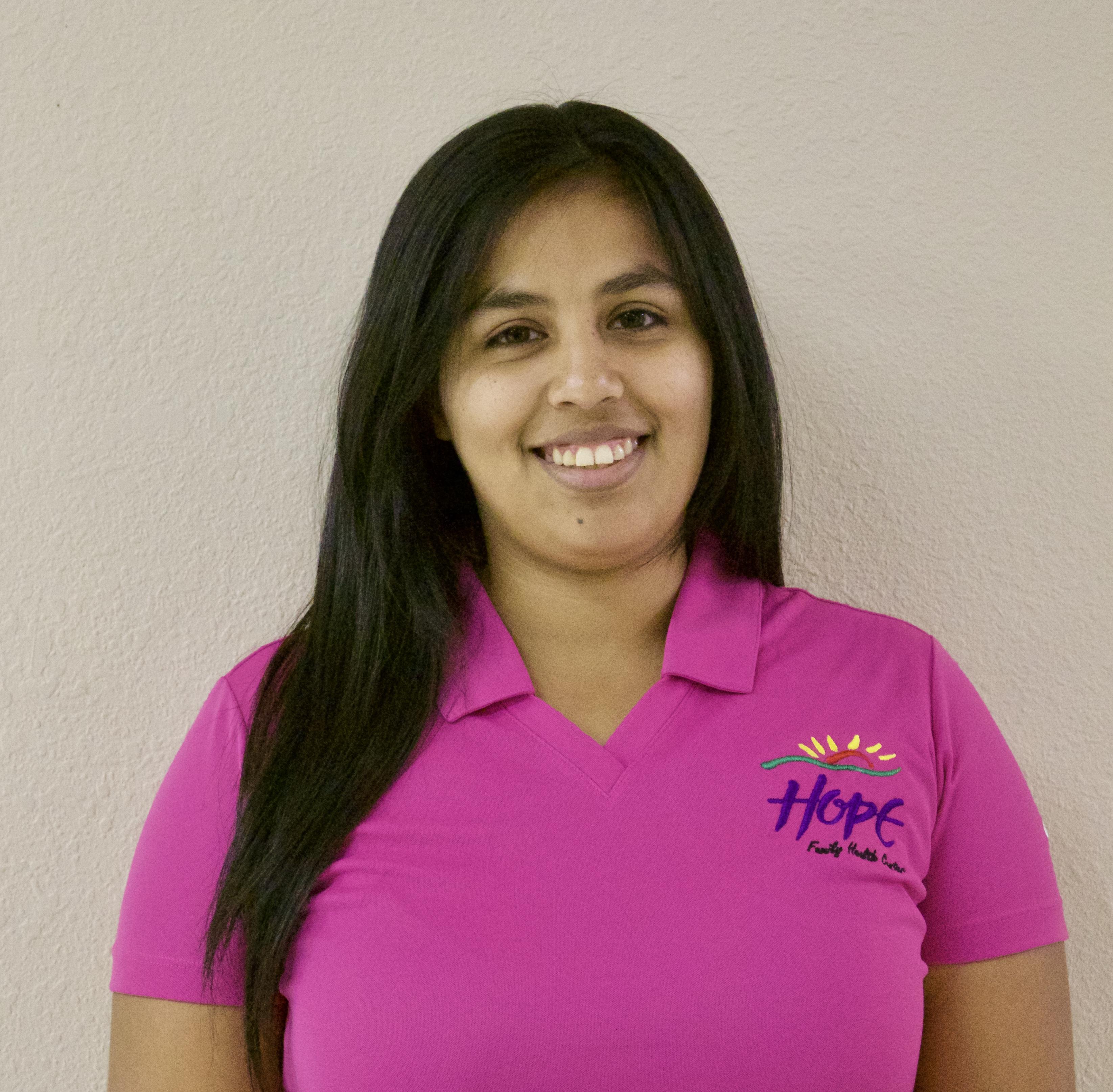 Julia Hernandez, Front Office Specialist