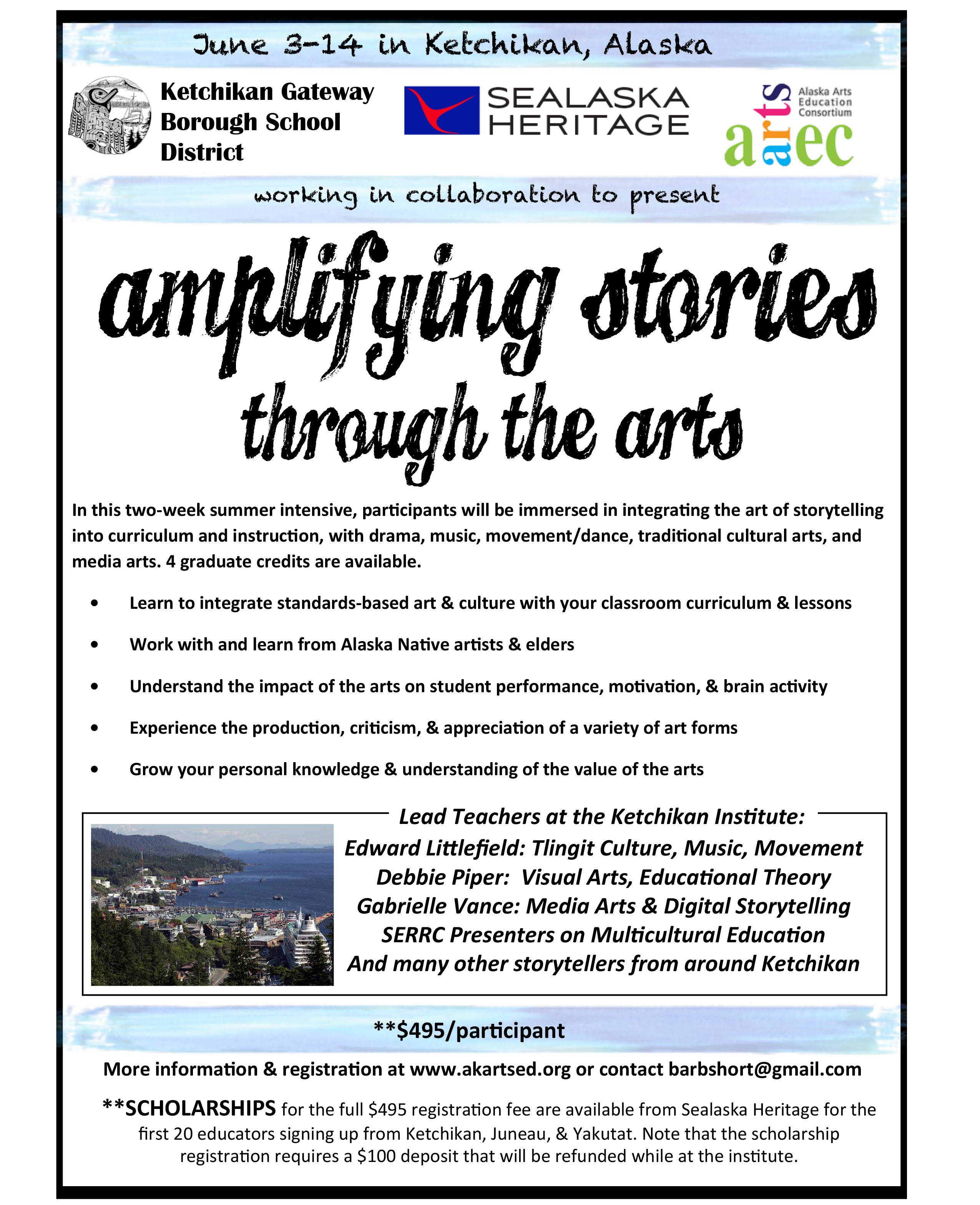 Amplifying Stories through the Arts