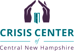 Image result for crisis center of central nh logo