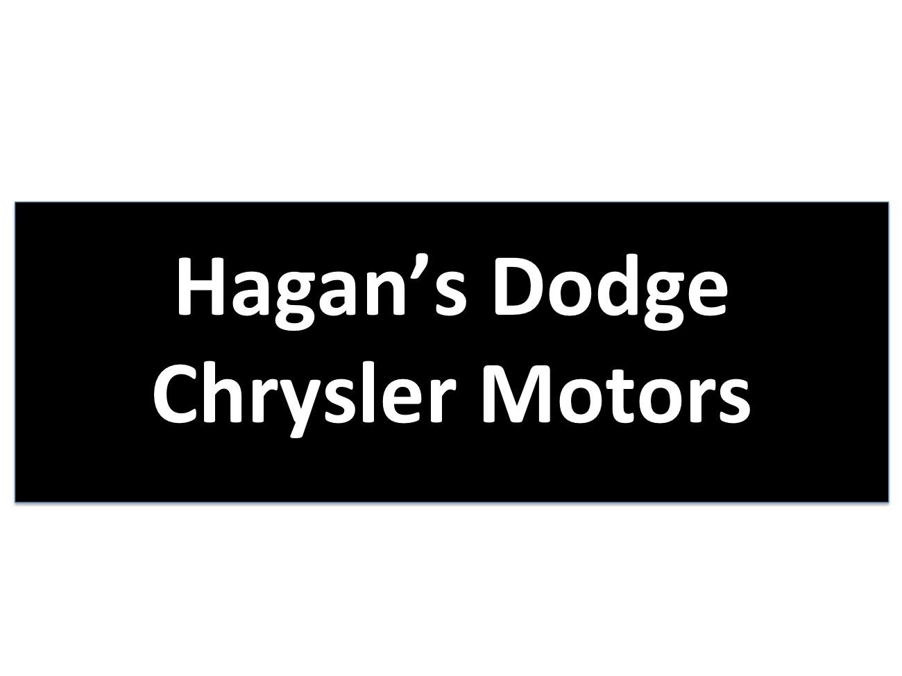 Hagan's Dodge Chrysler Motors