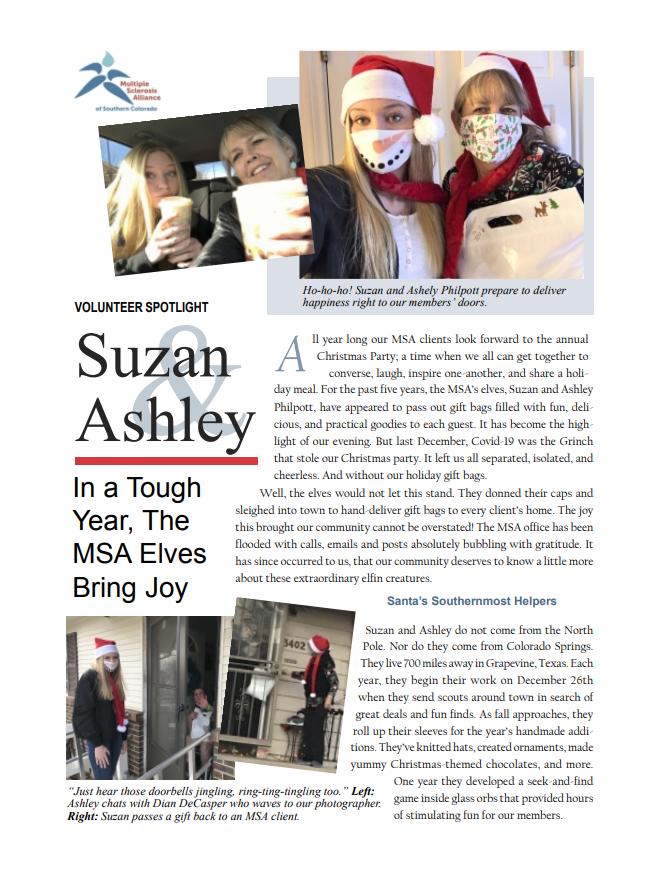 Spotlight on Suzan and Ashley Philpott