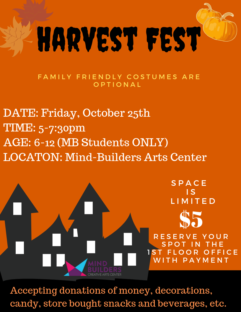 Harvest Fest 5-7:30pm