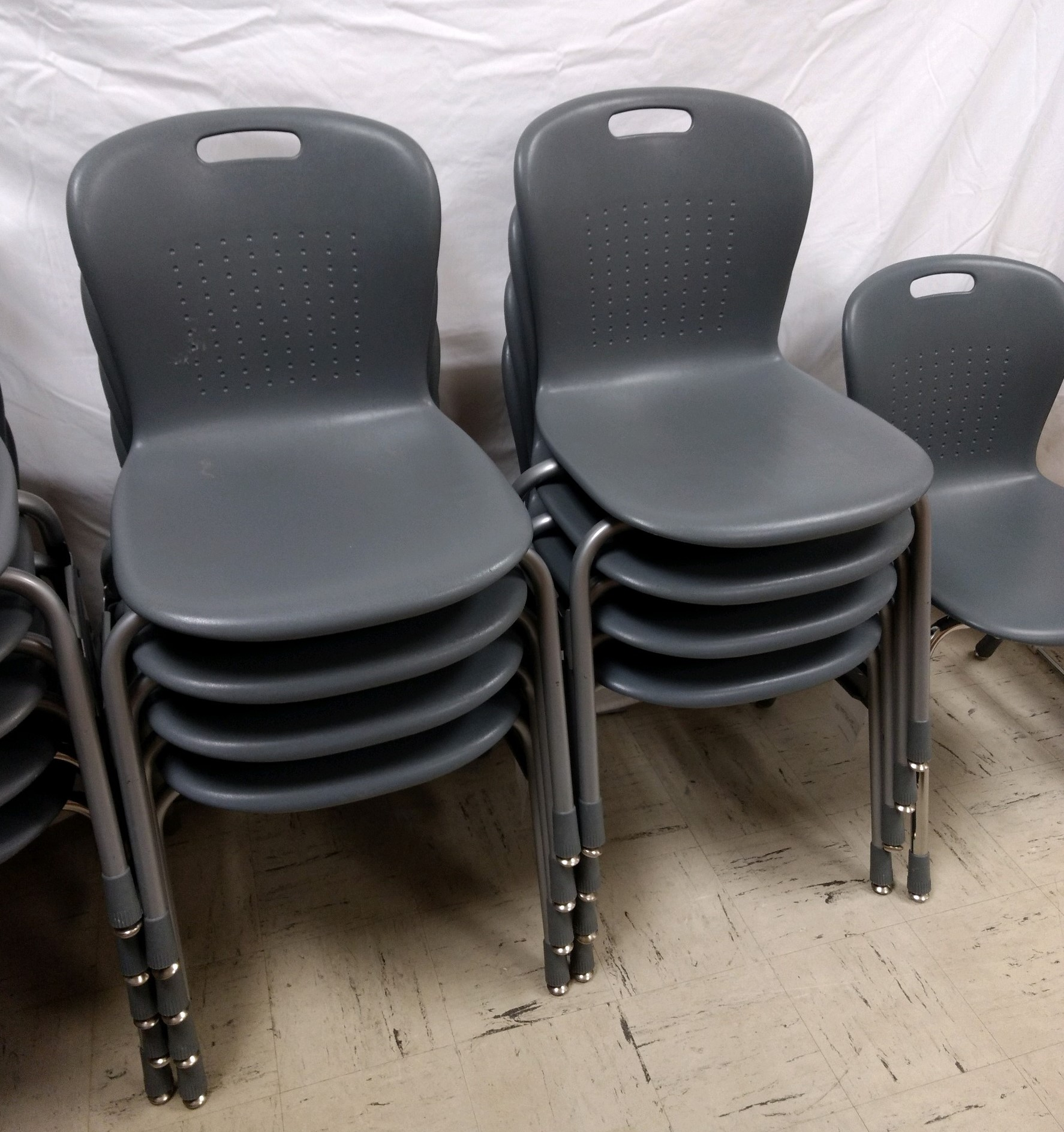 *Chair - Gray Stack