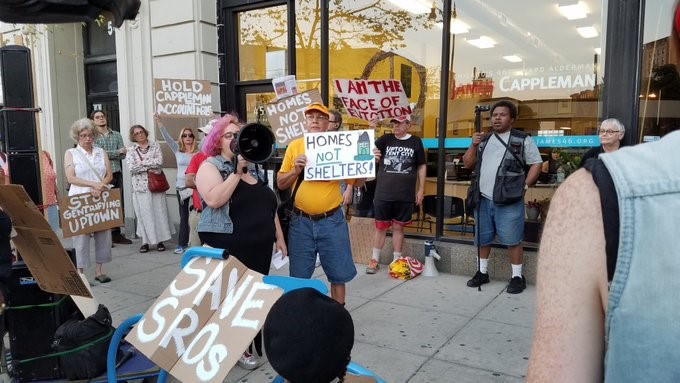 Chicagoans Blast 'Criminalization' Of Homeless People In Uptown Outside Alderman's Office