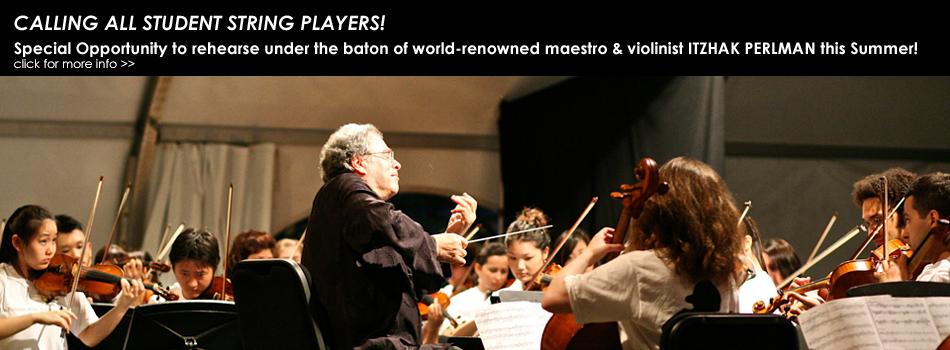 2016 EEASO-Perlman Music Program - Open Rehearsal Opportunity