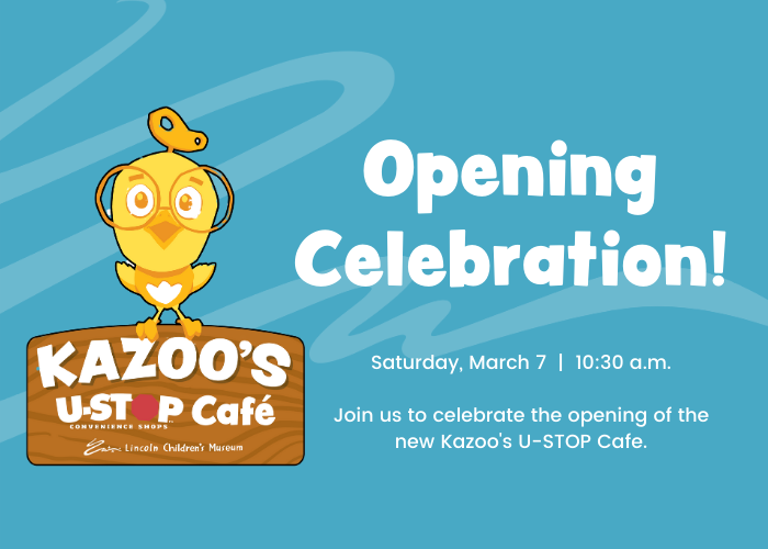 Kazoo's USTOP Cafe Opening Celebration