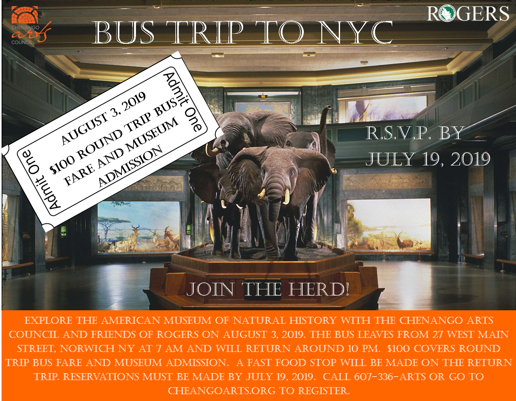 Bus Trip to American Museum of Natural History