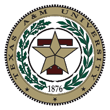 Y34388 - Carved 2.5-D HDU (Flat Relief)  Wall Plaque of the Seal of Texas A & M  University