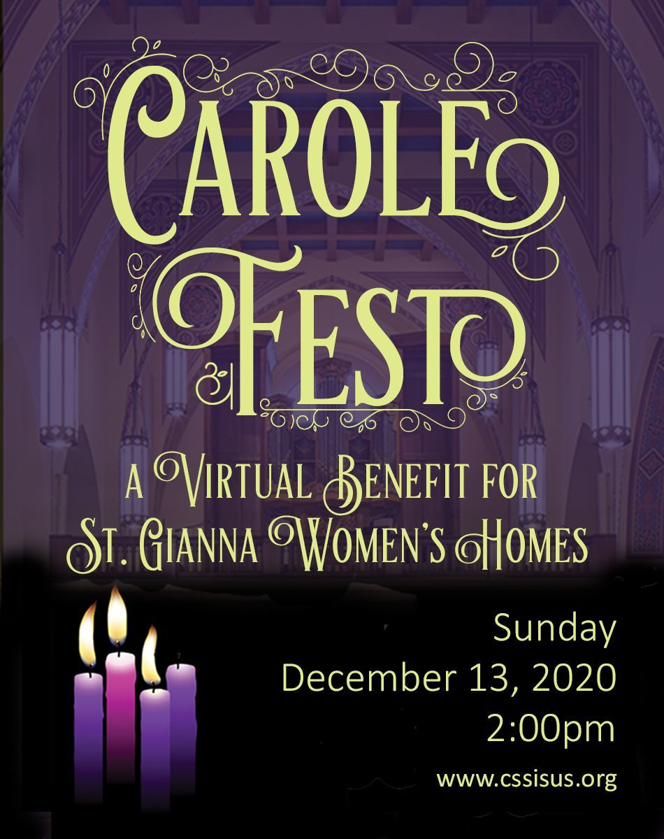 Carole Fest 2020: A virtual benefit for St. Gianna Women's Homes