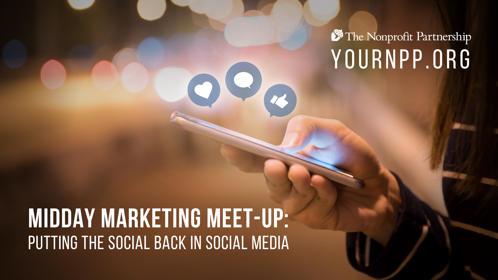 **POSTPONED - Midday Marketing Meet-Up: Putting the SOCIAL Back in Social Media