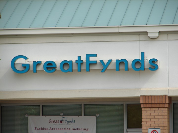 GreatFynds Gainesville Location Channel Letters