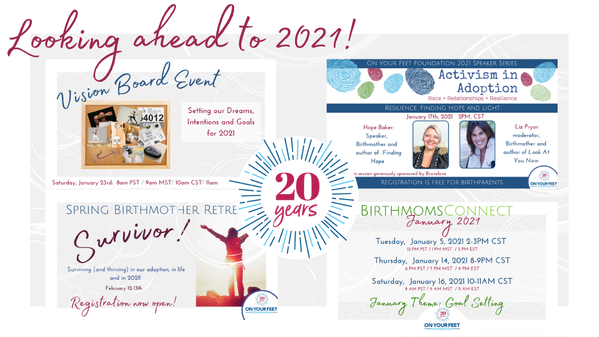 2020 Done! Time To Look Ahead To Our 2021 Plans