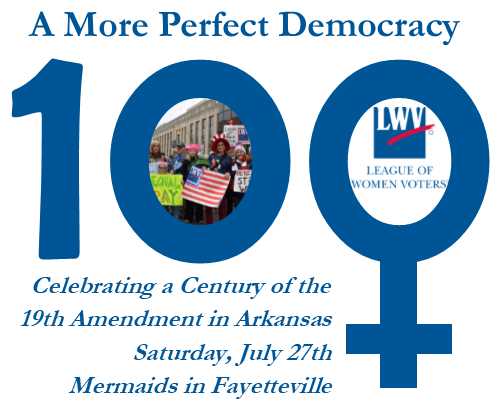 Commemoration of the 100th Anniversary of Arkansas's Ratification of the 19th Amendment