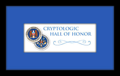 NSA Cryptologic Hall of Honor Sign