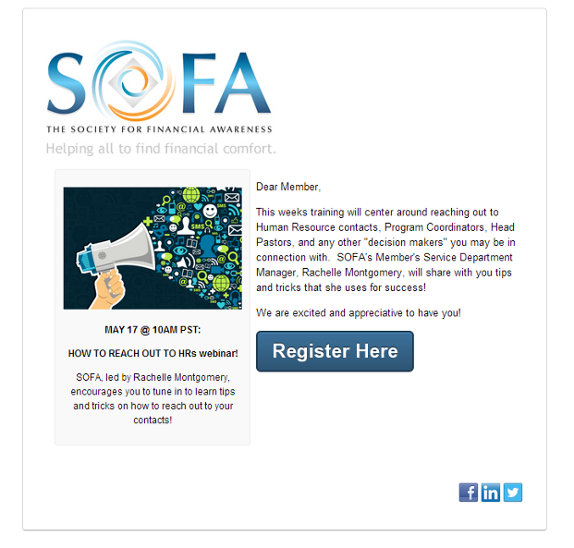 The Society for Financial Awareness