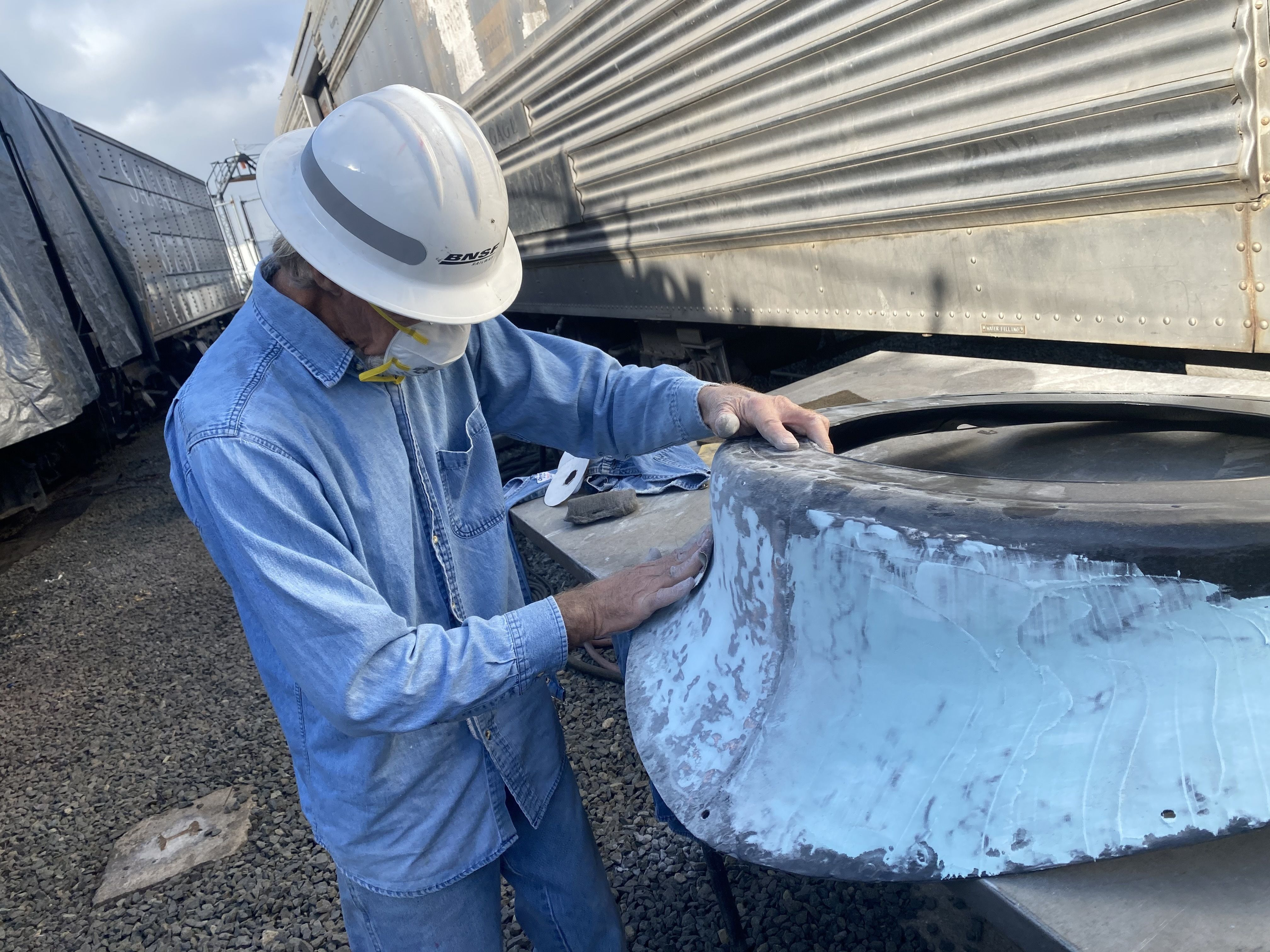 Repairing Steam Dome Section