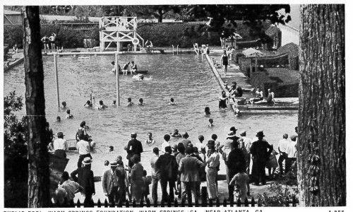Public Pool, Warm Springs Foundation, ca. 1940