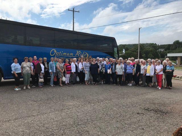 Women's PROBUS Club of South East NewBrunswick trip to PEI