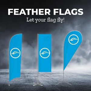feather flag banners for the Tucson & Phoenix region