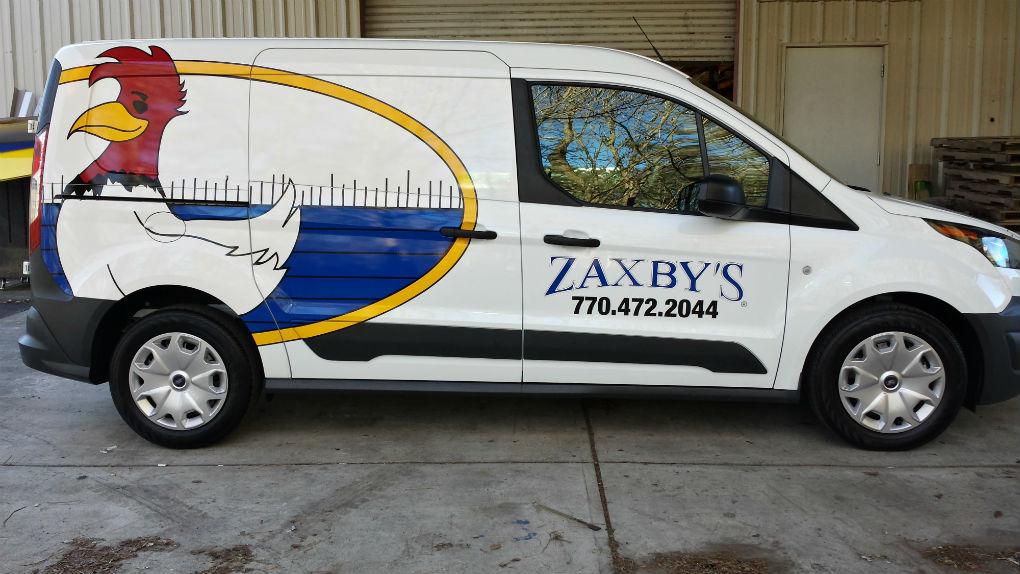 Zaxby's Passenger Side