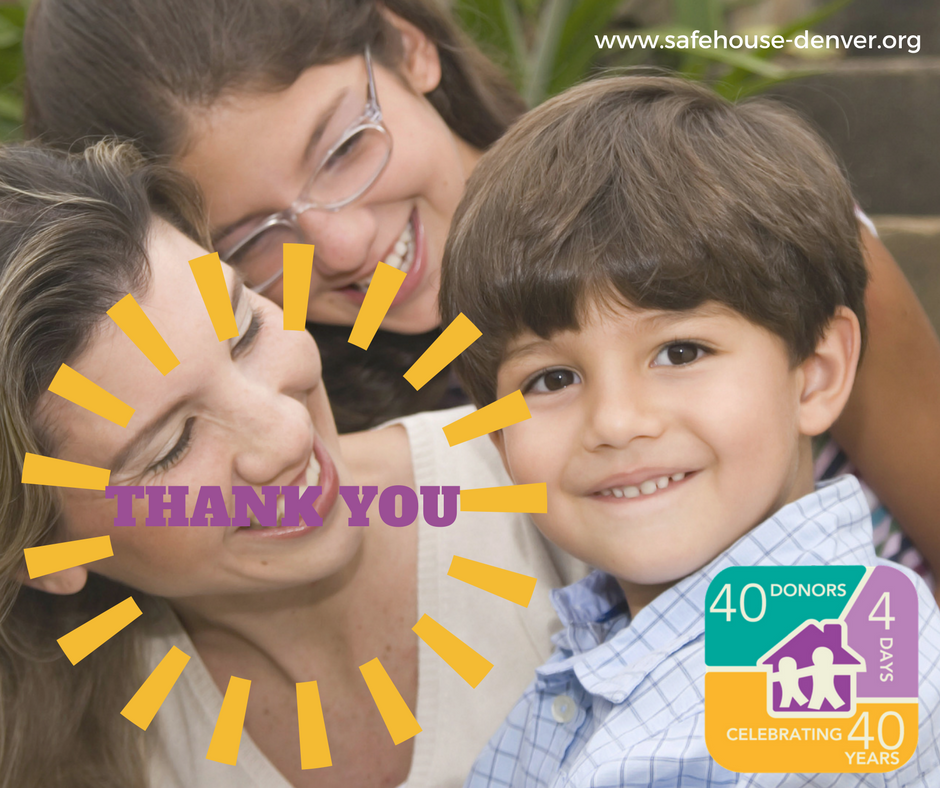 Thank you 40-4-40 Campaign Donors!