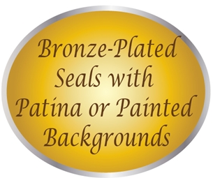 MA1000 - Carved 3-D and 2.5-D Bronze-Plated Wall Plaques
