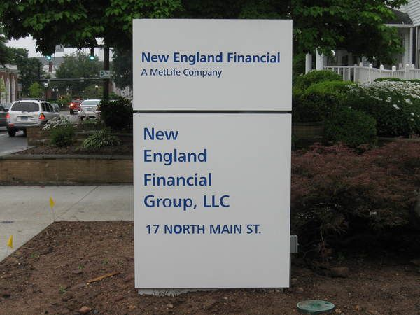 Pylon Sign, Aluminum, Company Identification Sign