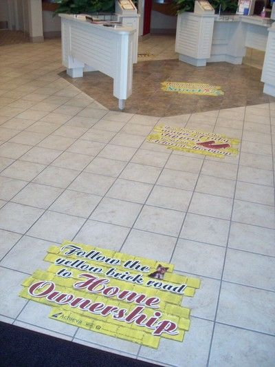 Digital Floor Graphic