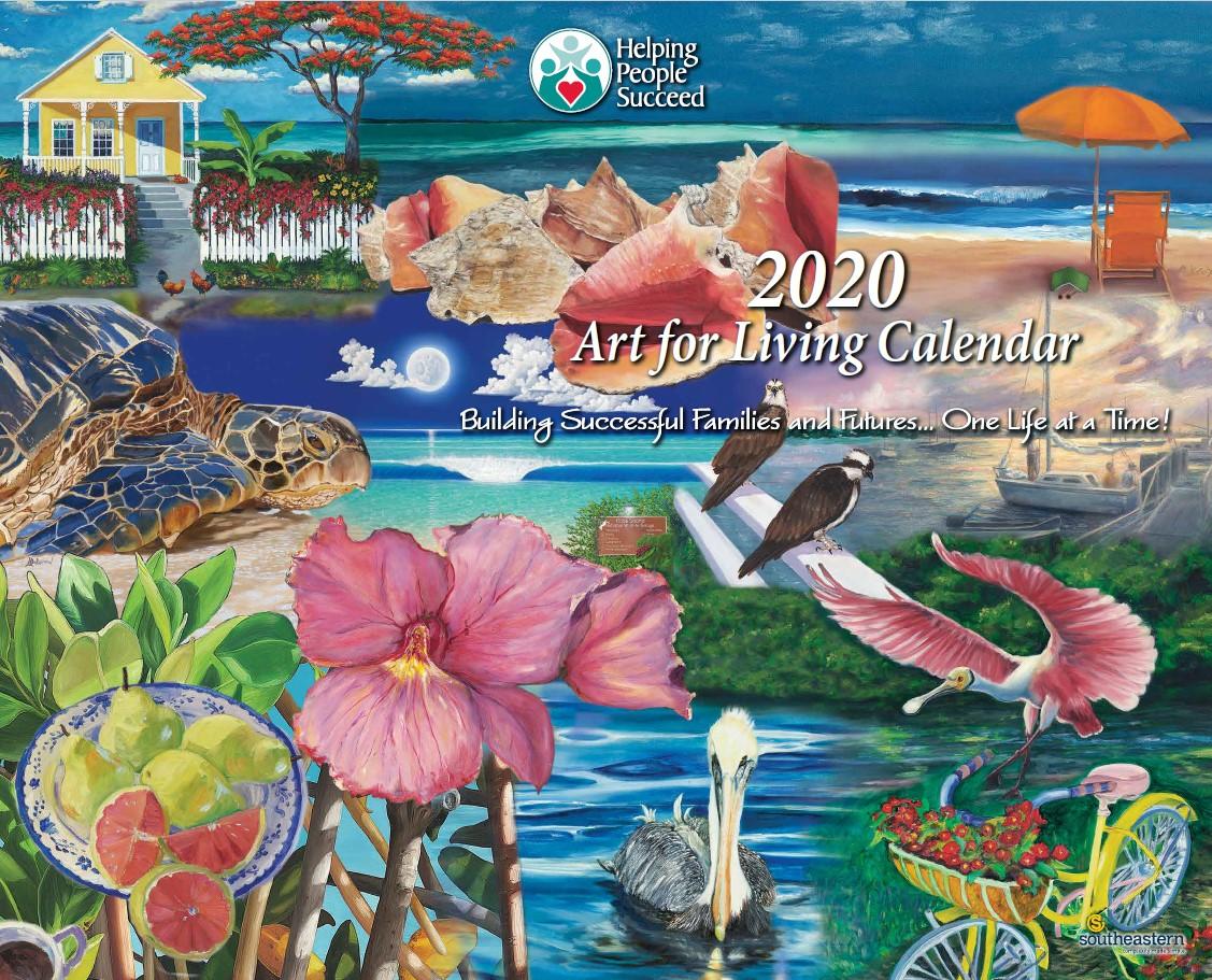 2020 Art for Living Calendars - Artist Signing